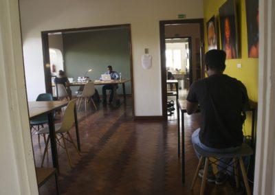 open space hot desks